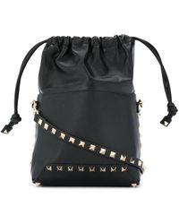 Valentino Garavani Valentino Garavani Rockstud Bucket Bag - Black