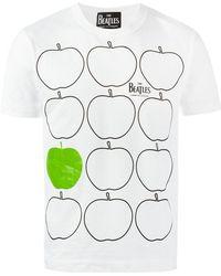 Comme des Garçons - 'apples' Print T-shirt - Lyst