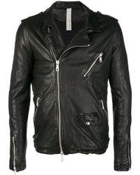 Giorgio Brato - Skinny Biker Jacket - Lyst