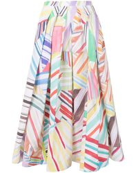 Rosie Assoulin Юбка Million Pleats - Многоцветный