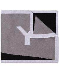 Givenchy - インターシャ ロゴ マフラー - Lyst