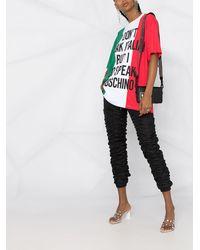 Moschino オーバーサイズ Tシャツ - マルチカラー