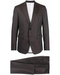 DSquared² ツーピース シングルスーツ - ブラウン