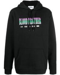 Blood Brother グラフィック パーカー - ブラック