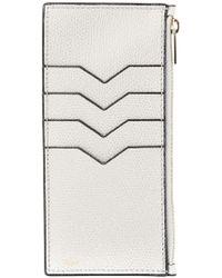 Valextra - Zipped Card Case - Lyst