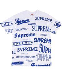Supreme - ロゴ Tシャツ - Lyst