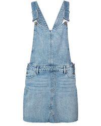 PAIGE Retta Overall ドレス - ブルー