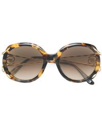 Elie Saab - オーバーサイズサングラス - Lyst