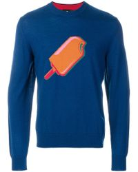 PS by Paul Smith - Ice Lolly Sweatshirt - Lyst