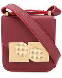 Ports 1961 Anika Mini Square Cross-body Bag - Red
