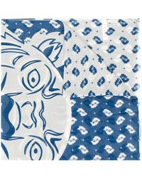KENZO - ロゴ スカーフ - Lyst