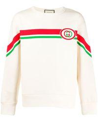 Gucci Классическая Толстовка - Многоцветный