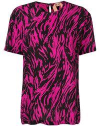N°21 - ゼブラ Tシャツ - Lyst