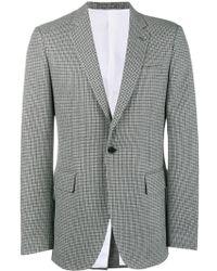 CALVIN KLEIN 205W39NYC Fancy Wool Check Blazer - Grijs