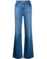 J Brand Jeans a gamba ampia Joan - Blu
