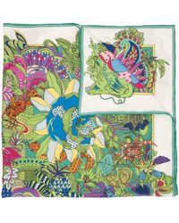 Shanghai Tang Платок С Принтом - Многоцветный