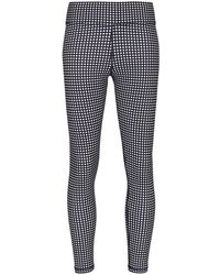 The Upside Gingham Pattern leggings - Blue