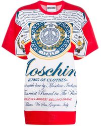 Moschino - オーバーサイズ Tシャツ - Lyst