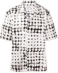 Maison Margiela Рубашка С Узором - Белый