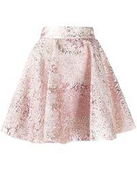 Dolce & Gabbana Бархатная Юбка - Розовый