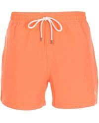 Polo Ralph Lauren ドローストリング ショートパンツ - オレンジ