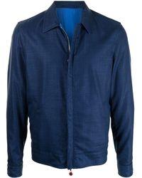 Kiton クラシックカラー ジャケット - ブルー