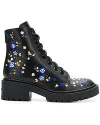 KENZO - Cheongsam Flower Pike Boots - Lyst