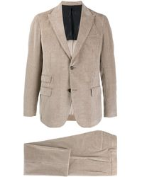 Eleventy - Single-breasted Corduroy Suit - Lyst