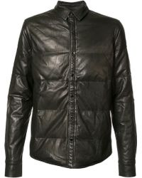 Private Stock - Padded Effect Jacket - Lyst