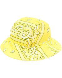 ARIZONA LOVE Bandana-print Bucket Hat - Blue