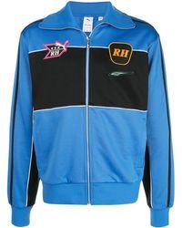 PUMA X Rhude Trainingsjack Met Geborduurd Logo - Blauw