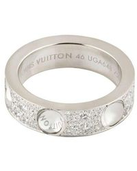 Louis Vuitton Кольцо С Бриллиантами - Металлик