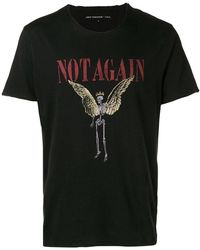 John Varvatos - Not Again T-shirt - Lyst
