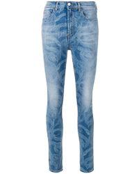 Marcelo Burlon - Snake Skinny-fit Jeans - Lyst