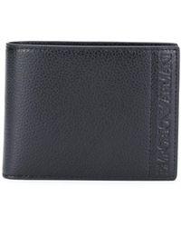 Emporio Armani Geprägtes Portemonnaie - Schwarz