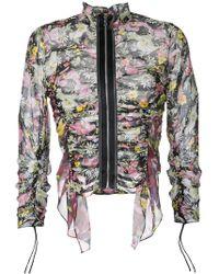 3.1 Phillip Lim - Floral Printed Jacket - Lyst