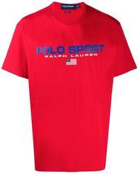 Polo Ralph Lauren Polo Sport Tシャツ - レッド