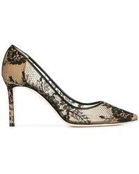 Jimmy Choo - - Romy 85 Pumps - Women - Leather/nylon - 37 - Lyst