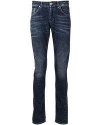 Dondup Skinny-Jeans - Blau