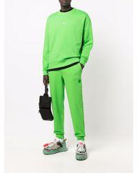 Holzweiler Pantalones de chándal con parche de percha - Verde