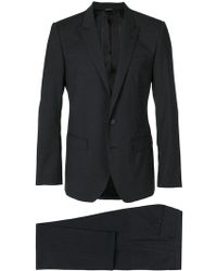 Dolce & Gabbana - Fitted Formal Suit - Lyst