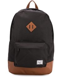 Herschel Supply Co. Zaino con design color-block Heritage - Nero