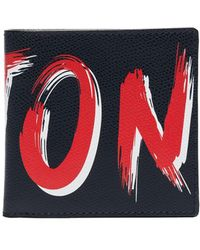 Kiton 二つ折り財布 - ブルー
