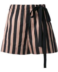 Rochas - Striped Shorts - Lyst