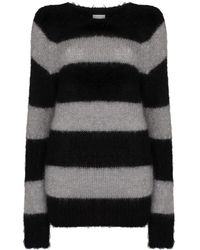 Erdem Heath ストライプ セーター - グレー