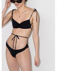 Frankie's Bikinis Foxy ハイウエスト ビキニボトム - ブラック