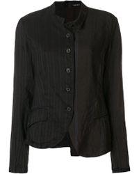 Rundholz - Asymmetric Button Jacket - Lyst
