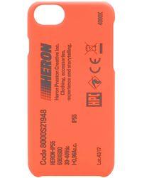 Heron Preston Stamp Iphone 8 ケース - マルチカラー