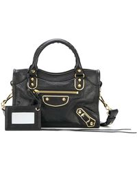 Balenciaga Bal Met Mini City - Black