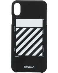 Off-White c/o Virgil Abloh Logo Iphone Xs Max Case - Black